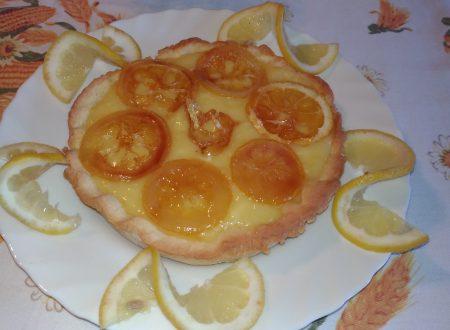 Tartellette con crema lemon curd
